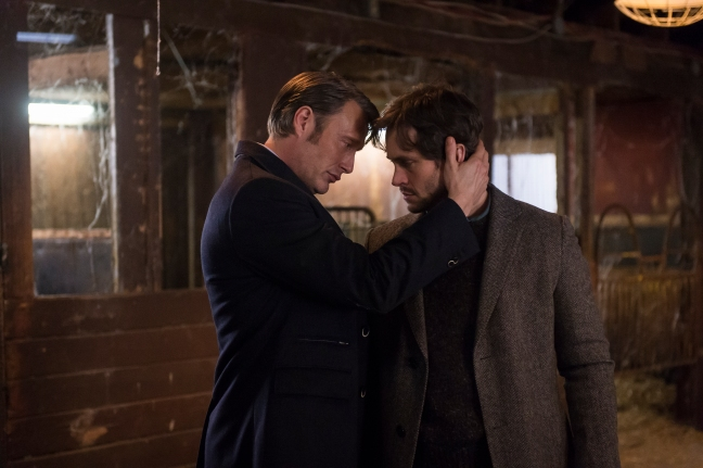 "HANNIBAL -- ""Su-zakana"" Episode 208 -- Pictured: (l-r)  -- (Photo by: Brooke Palmer/NBC)"